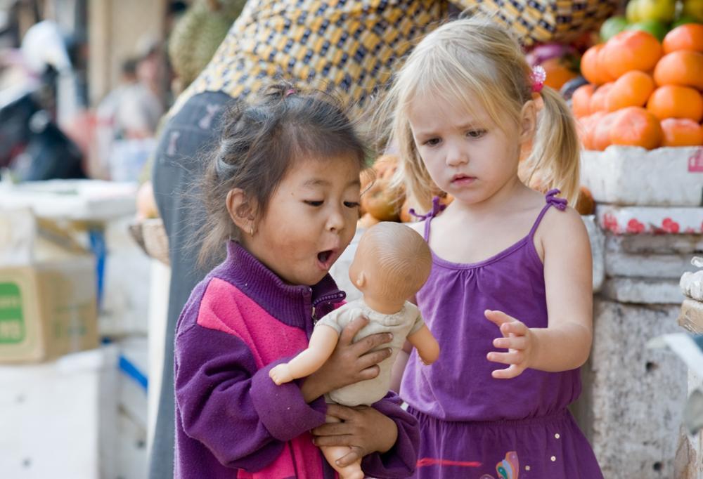 Voyager avec des enfants au Cambodge
