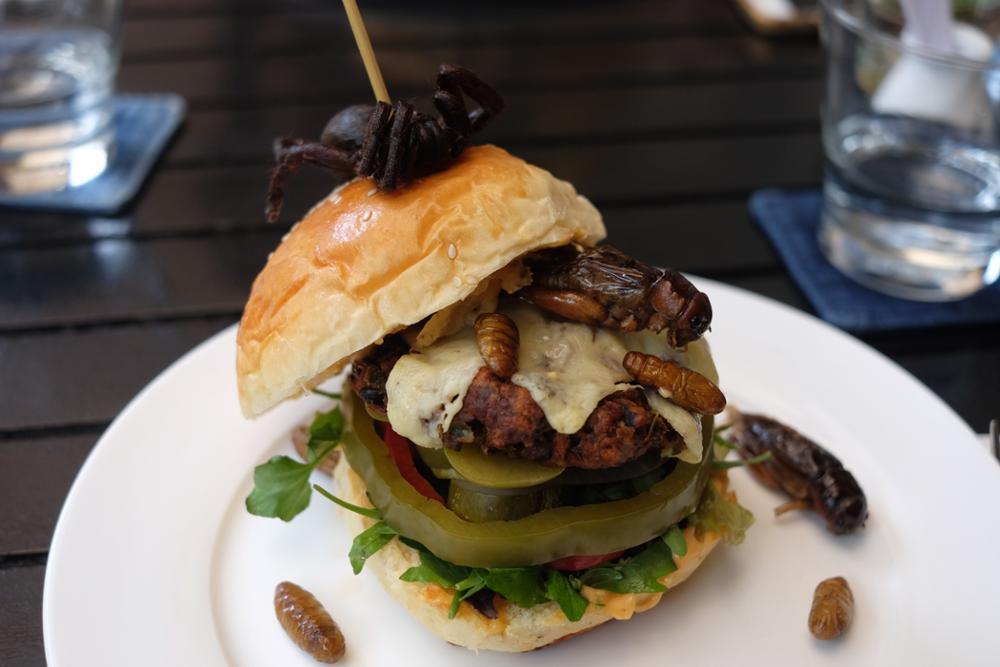 Le Bugs Burger de Phnom Penh