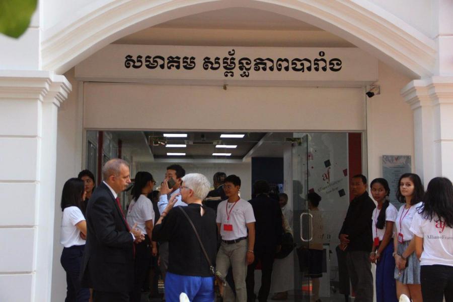 Inauguration de l'Alliance Française à Siem Reap