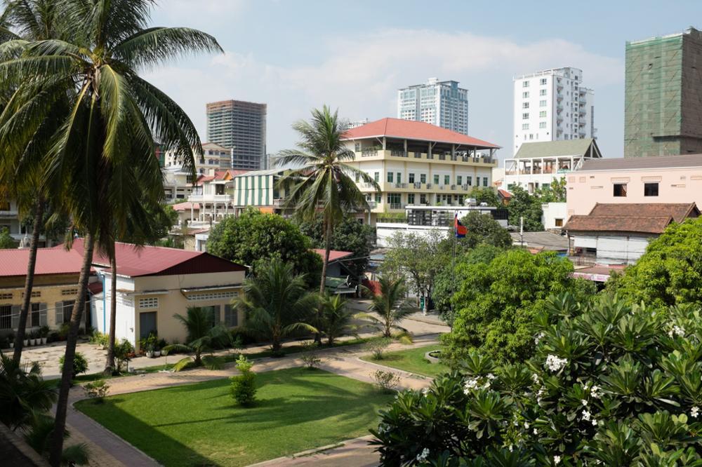 Le musée de Tuol Sleng, une geôle de torture passée