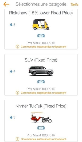 Tout sur les applications de tuk tuk au Cambodge !