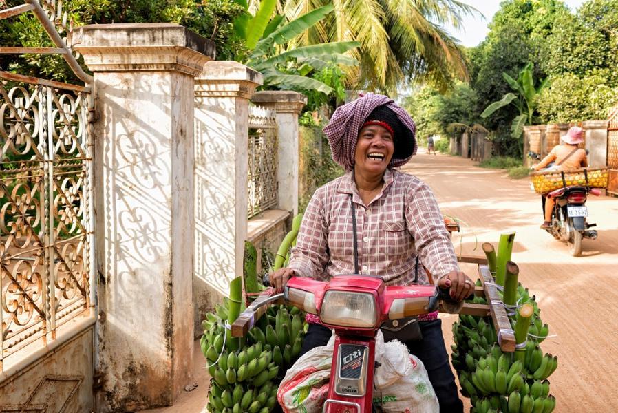 Le krama cambodgien