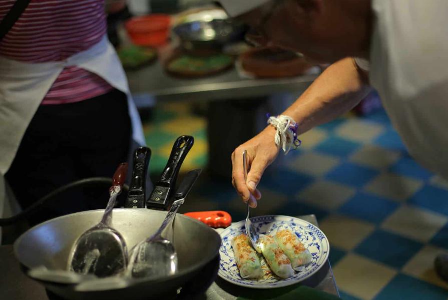 Apprendre la cuisine khmère à Siem Reap