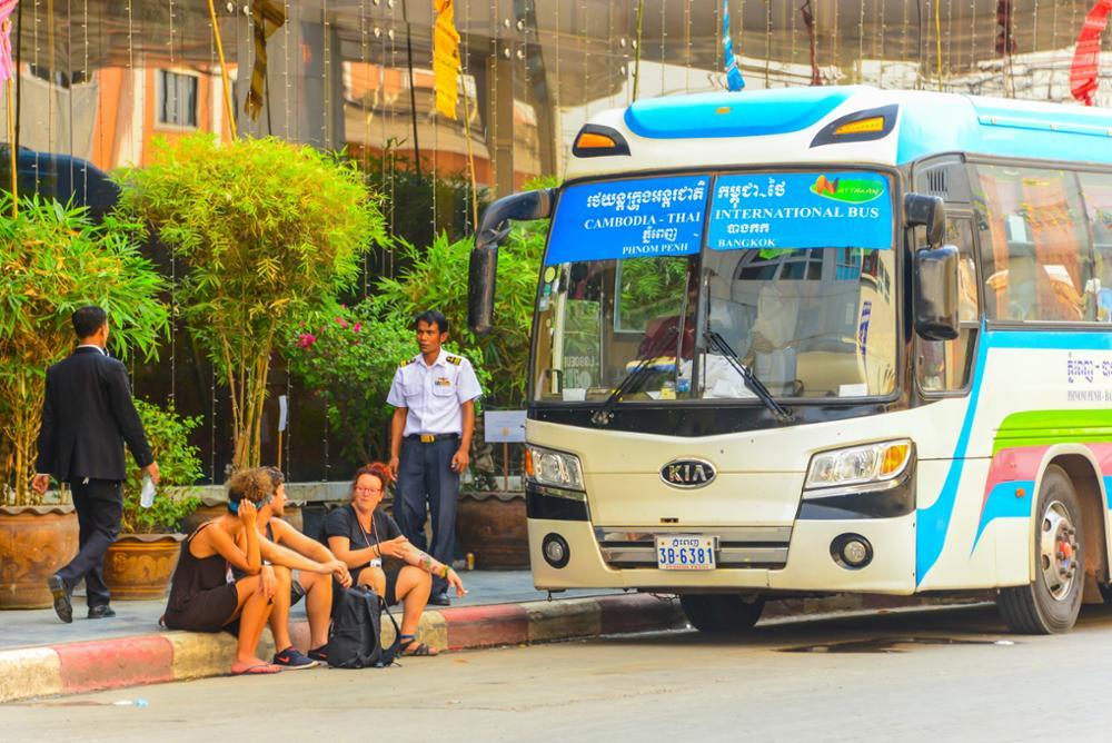 Faire le trajet de Phnom Penh à Siem Reap
