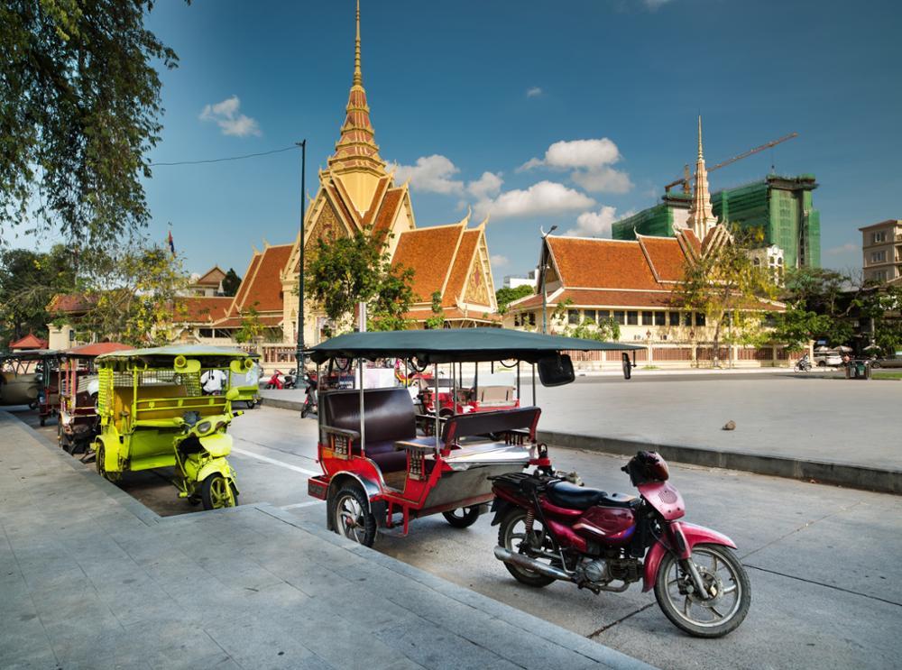5 moyens de se déplacer à Phnom Penh !