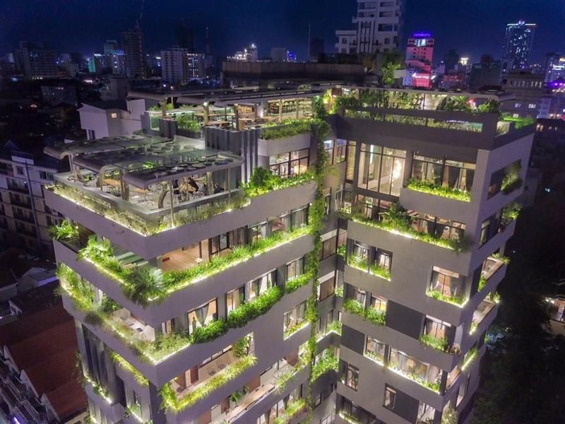 5 bars rooftop pour aller boire un verre à Phnom Penh