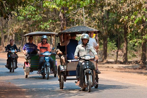 Passapp, l'application des tuk-tuks cambodgiens débarque à Siem Reap