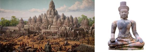 L'histoire des rois d'Angkor