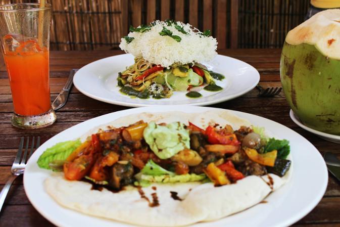 Manger végétarien au Cambodge
