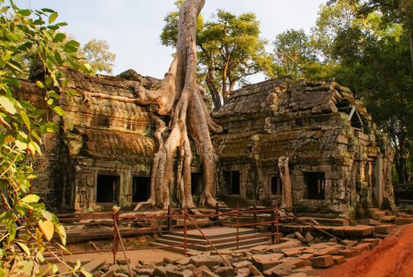 Comment éviter la masse touristique dans les temples d'Angkor